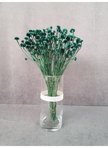 Kuru Çiçek Deposu Kuru Çiçek Papatya Otu 50 Cm Koyu Mor  Mavi